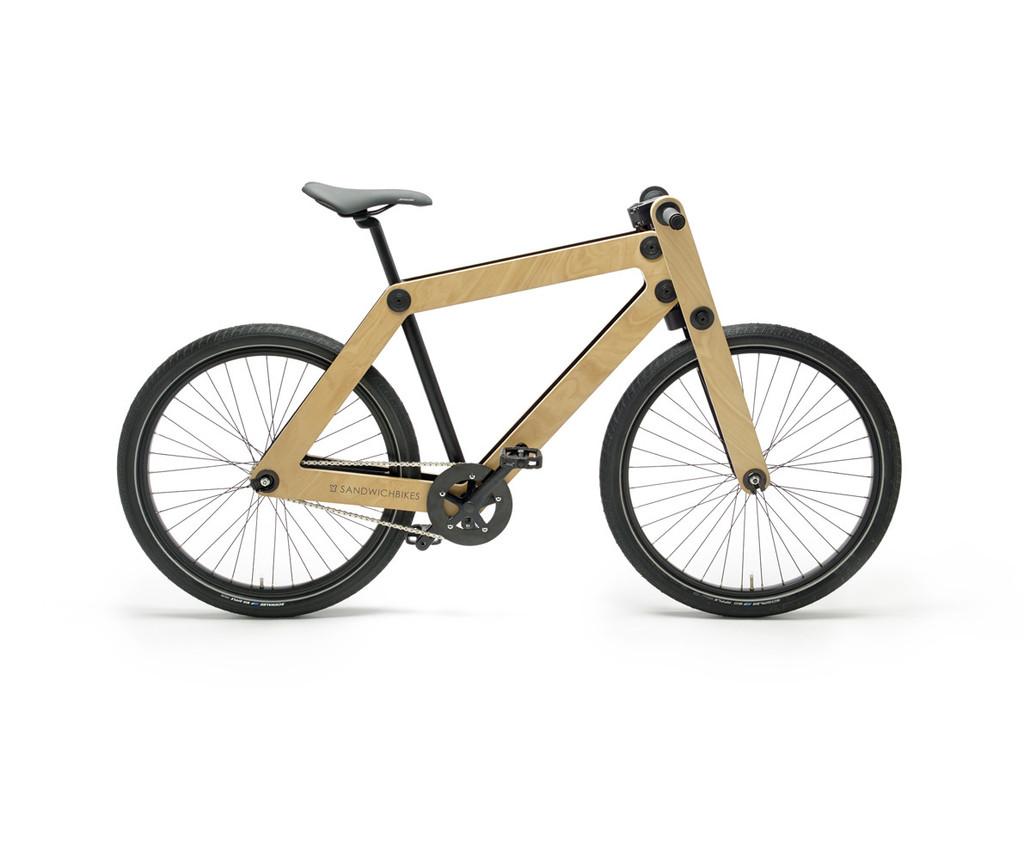 Wooden Fork 1-speed – Sandwichbikes