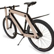 Sandwichbike with fenders