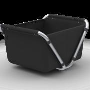 Yepp Cargo Flexx Black perspective open