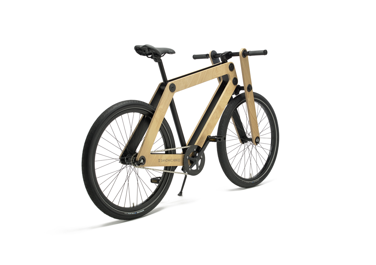 Wooden Fork 1-speed – Sandwichbikes
