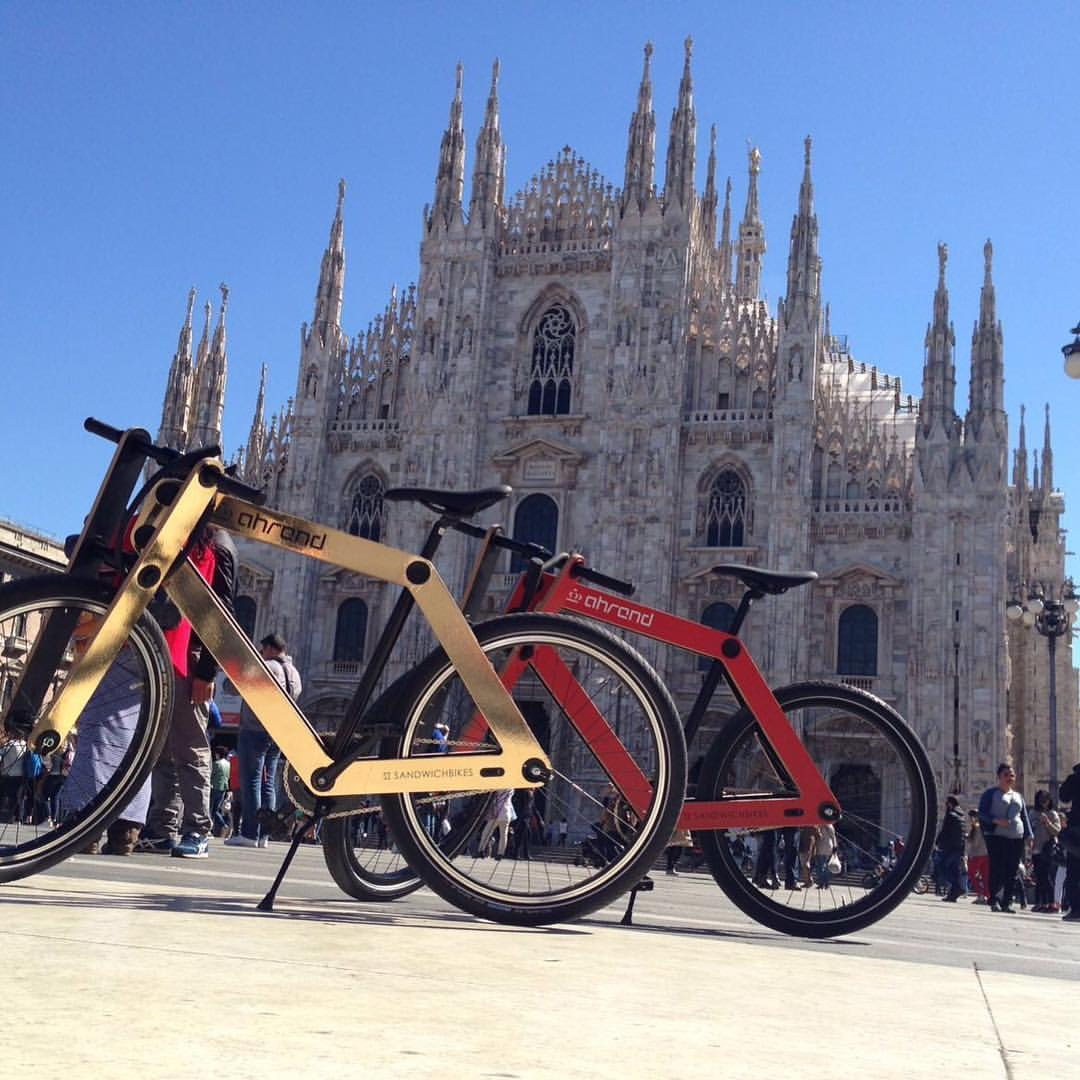 Branded editions at Salone del Mobile in Milano – Sandwichbikes
